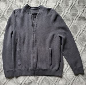 Banana Republic Supima Cotton Zip Up Sweater